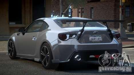Subaru BRZ SP-U для GTA 4