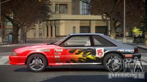 Ford Mustang SVT 90S S1 для GTA 4