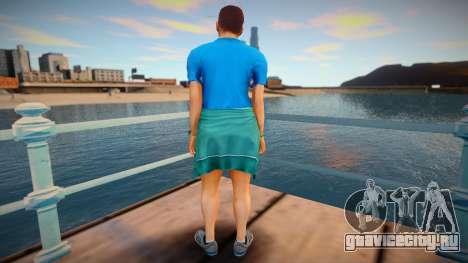 Скин из GTA V v9 для GTA San Andreas