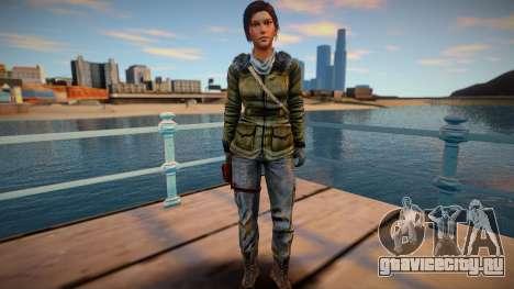 Lara Croft 2015 для GTA San Andreas