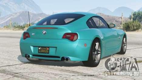 BMW Z4 M coupe (E86) 2006〡add-on v2.0