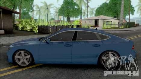 Audi A7 2010 для GTA San Andreas