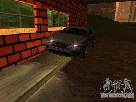 Bentley Continental GT RUS Plates для GTA San Andreas