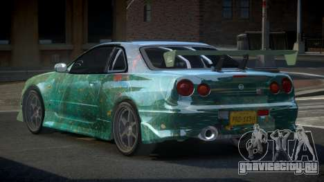 Nissan Skyline R34 PSI-S S6 для GTA 4