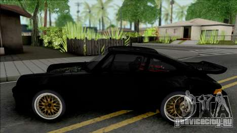 Porsche 911 Turbo Wangan Midnight Black Bird для GTA San Andreas
