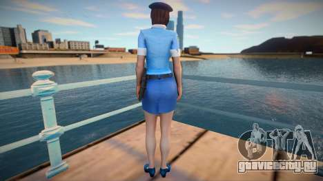 Jill Police для GTA San Andreas