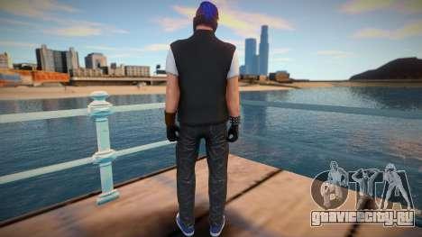 Male Biker DLC from GTA Online для GTA San Andreas