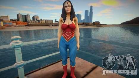 Wonder Woman skin для GTA San Andreas