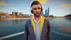 Чувак в наушниках из GTA Online для GTA San Andreas