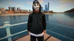 Str3sU ComputerS Skin - Anonymous Style для GTA San Andreas