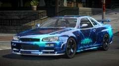 Nissan Skyline R34 PSI-U S8 для GTA 4