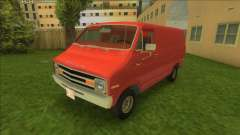 Dodge Tradesman Van 1976 для GTA Vice City