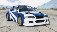 BMW M3 GTR (E46) Most Wanted v2.2 для GTA 5
