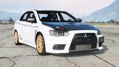 Mitsubishi Lancer Evolution X 2015〡add-on v2.0 для GTA 5