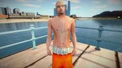Латинос в тюремной одежде для GTA San Andreas