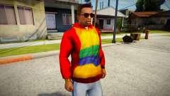 Playboy X Hoodie для GTA San Andreas