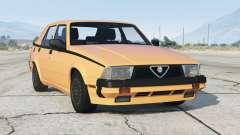 Alfa Romeo Milano Quadrifoglio Verde 1992〡add-on v1.1 для GTA 5