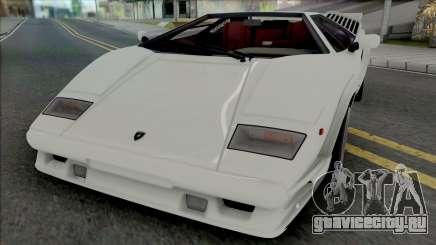 Lamborghini Countach LP5000QV & 25th Anniversary для GTA San Andreas