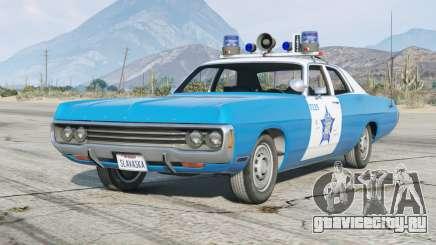 Dodge Polara (DE) 1971〡Chicago Police〡add-on [ELS] для GTA 5