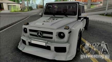 Mercedes-Benz G63 AMG 6x6 [IVF VehFuncs ADB] для GTA San Andreas