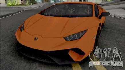 Lamborghini Huracan Performante (SA Lights) для GTA San Andreas