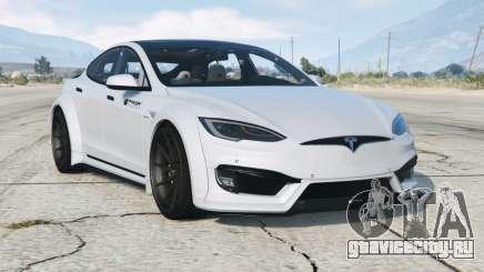 Tesla Model S P100D Prior-Design 2017〡wide body kit〡add-on v1.1 для GTA 5
