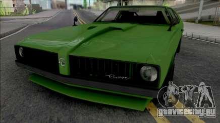 Declasse Stallion [SA Plate] для GTA San Andreas