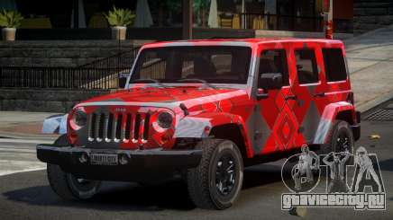 Jeep Wrangler PSI-U S4 для GTA 4