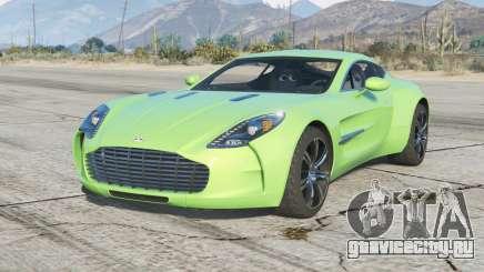 Aston Martin One-77 2010〡add-on v2.0 для GTA 5