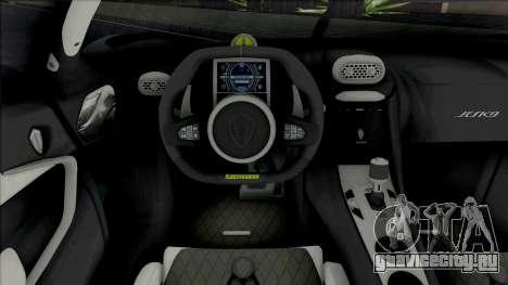 Koenigsegg Jesko 2020 & Jesko Absolute для GTA San Andreas