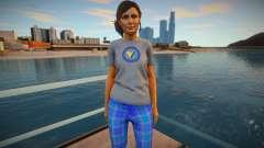 Rio Morales Pajamas для GTA San Andreas