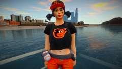 Fortnite - Fastball Fashion Casual V2 Orioles Ba для GTA San Andreas