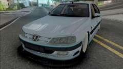 Peugeot Pars Sport (BBS Rims) для GTA San Andreas