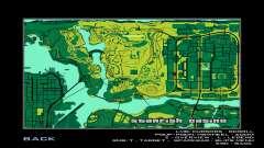 Карта в стиле MTN DEW для GTA San Andreas