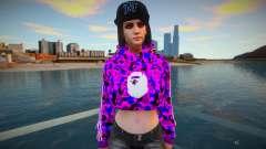 GTA Online Female Assistant V3 Diva Outfit для GTA San Andreas