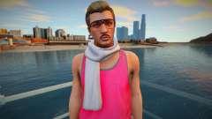 Хипстер в розовой майке из GTA Online для GTA San Andreas