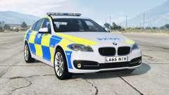BMW 530d (F10) 2013〡British Police для GTA 5