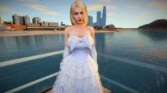 Helena Douglas Wedding Dress для GTA San Andreas