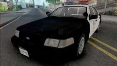 Ford Crown Victoria 1999 CVPI LAPD v2 для GTA San Andreas