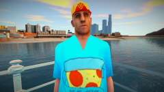 Wmypizz в футболке для GTA San Andreas