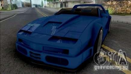 Pontiac Firebird Roadster Concept Custom для GTA San Andreas