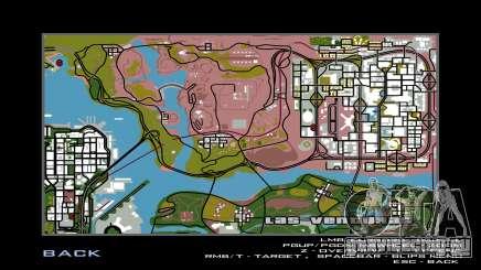 Новая игровая карта для GTA San Andreas