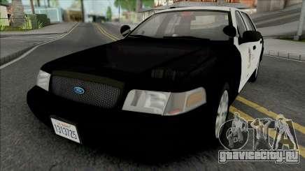 Ford Crown Victoria 2011 CVPI LAPD GND v2 для GTA San Andreas