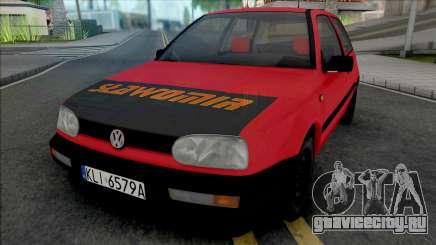 Volkswagen Golf III Slawomir для GTA San Andreas