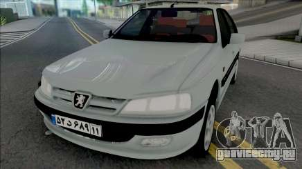 Peugeot Pars [ADB IVF VehFuncs] для GTA San Andreas