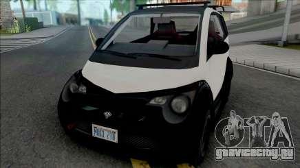 Benefactor Panto [SA Plate] для GTA San Andreas
