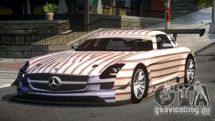 Mercedes-Benz SLS GT-I S2 для GTA 4