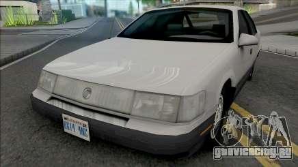 Mercury Sable GS 1989 Lowpoly для GTA San Andreas