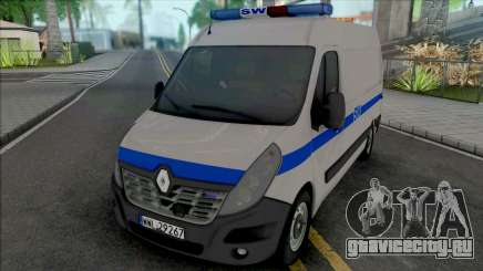Renault Master II Prison Service для GTA San Andreas