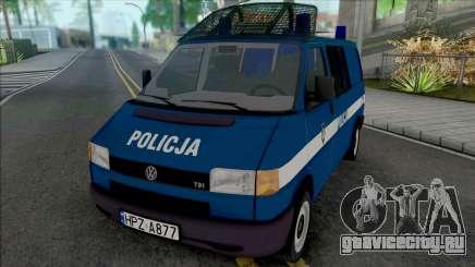 Volkswagen Transporter (T4) Policja KSP для GTA San Andreas
